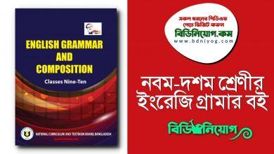 Class 9 10 English Grammar and Composition