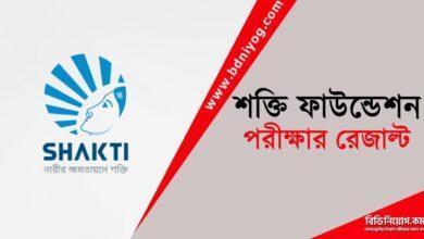 Shakti Foundation Exam Result