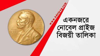 Noble Prize At a glance